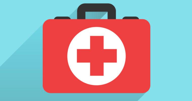 Cassette del pronto soccorso